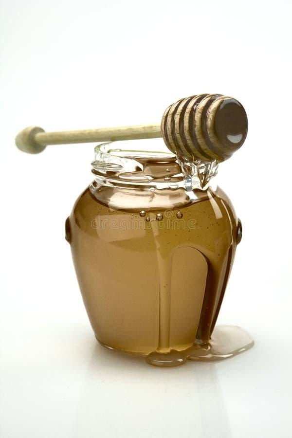 Опарник меда стоковая фотография rf