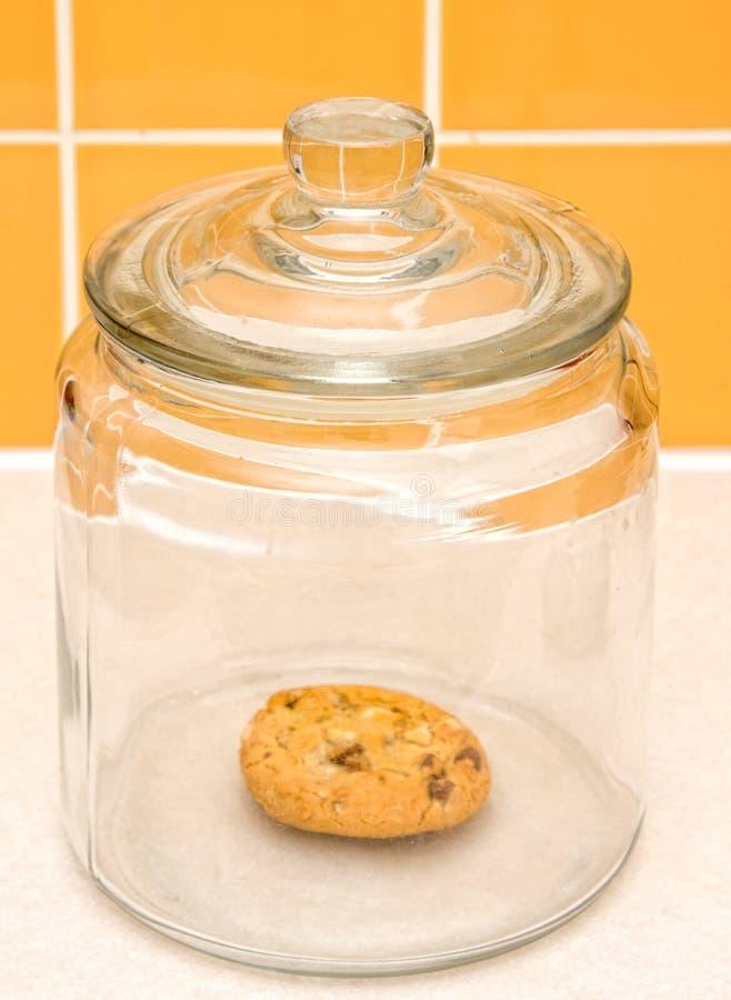опарник печенья стоковое фото rf