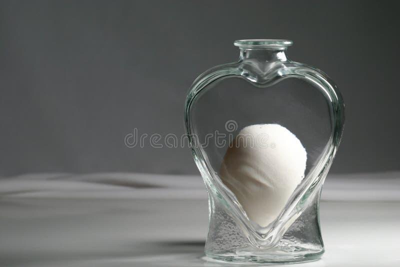 опарник сердца яичка Стоковые Фото