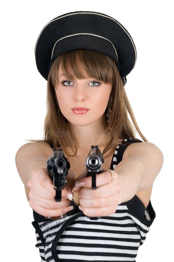 опасная девушка стоковые фотографии rf