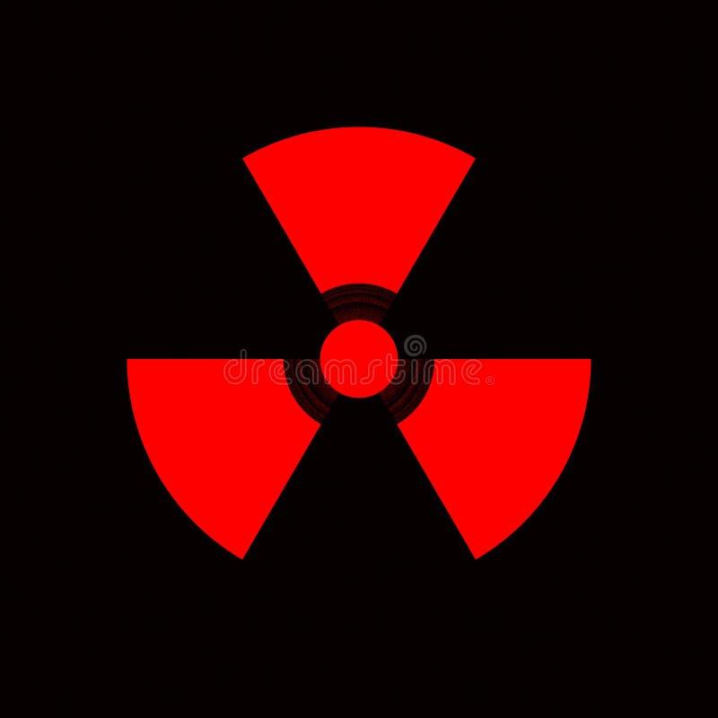 опасность ядерная стоковое изображение
