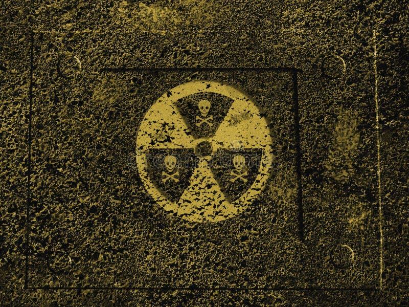 опасность ядерная иллюстрация штока