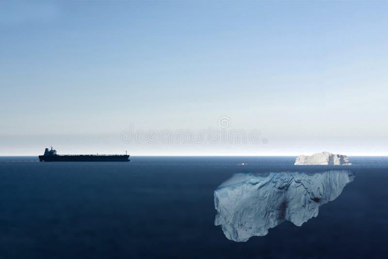Опасные моря стоковые изображения