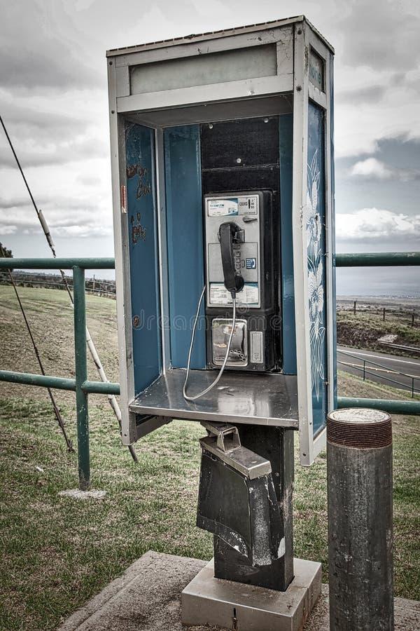 Опасный телефон стоковое фото rf