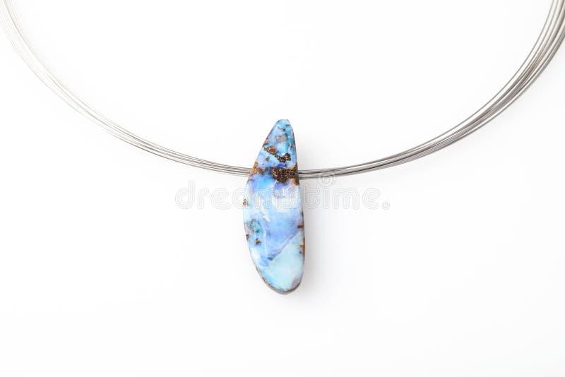Опаловое ожерелье стоковое фото rf