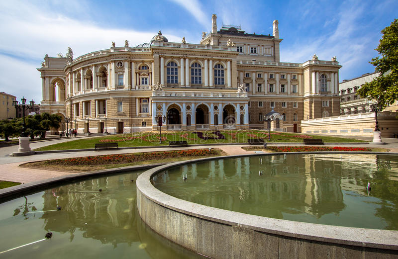 Опера Одесса стоковое изображение rf