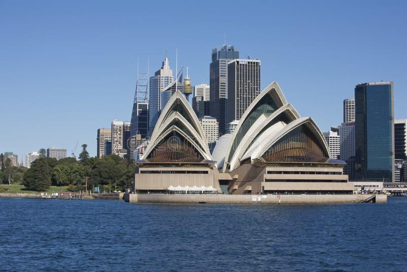 опера Сидней дома Австралии стоковая фотография