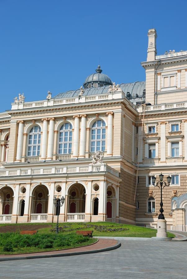 опера Украина odessa дома фасада стоковое изображение rf