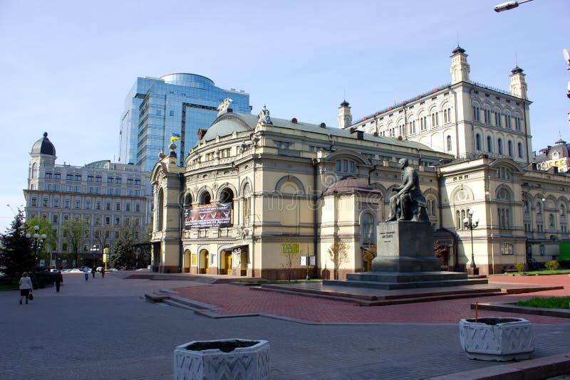 опера kiev дома стоковые изображения