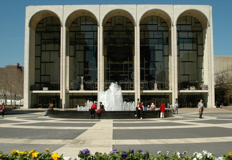 опера nyc дома столичная стоковые изображения