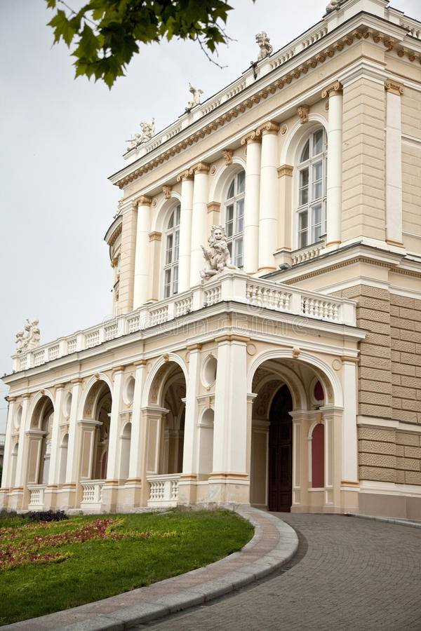 опера odessa дома стоковые фото