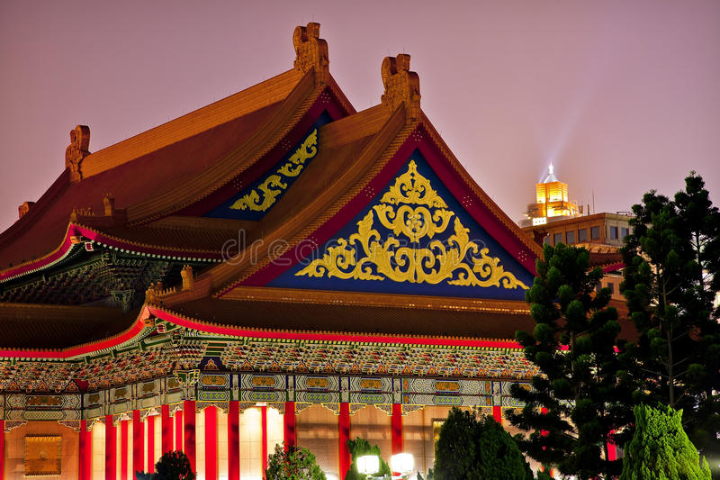 опера taiwan дома chiang мемориальная национальная стоковое изображение