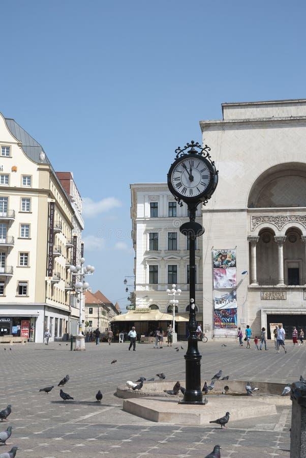 Оперный театр в Timisoara, Румынии стоковое изображение rf