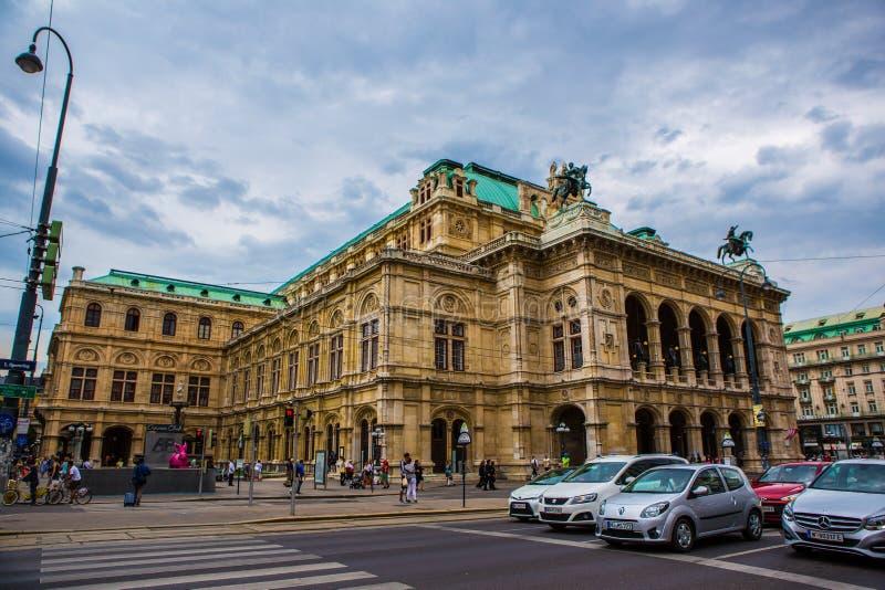Оперный театр положения вены стоковое изображение rf