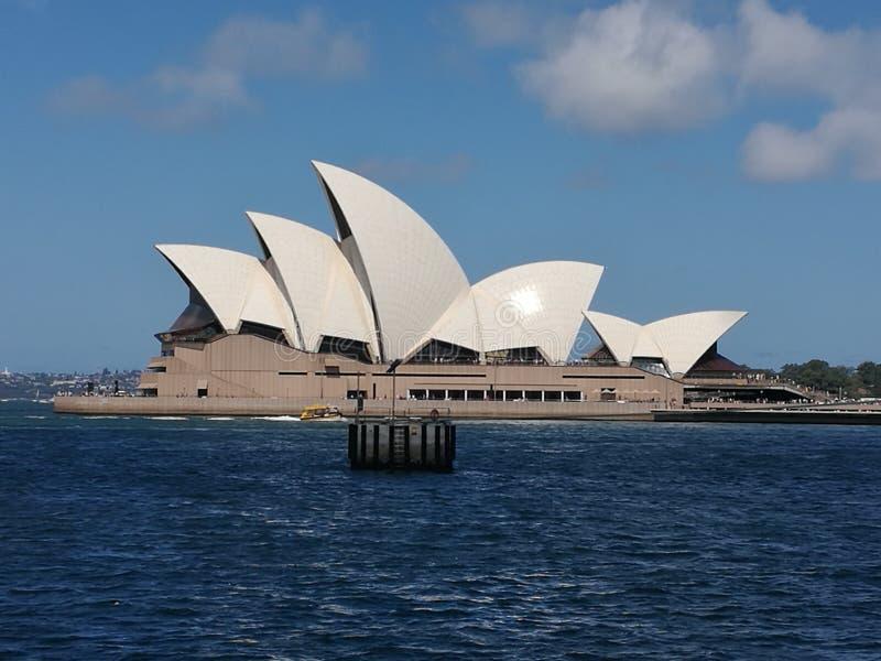Оперный театр Сиднея стоковое изображение