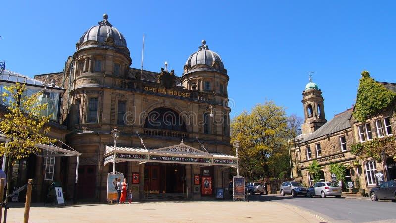 Оперный театр Buxton в курортном городе Buxton в Дербишире Северная Англия стоковые изображения