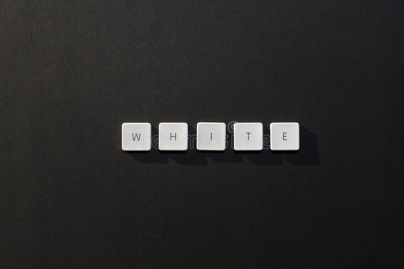 Описание белизны слова стоковые фотографии rf