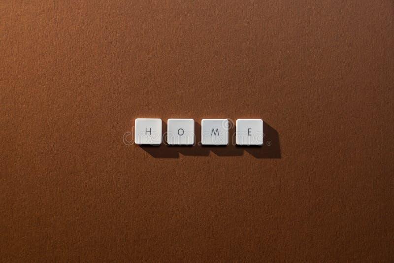 Описание дома слова стоковое фото