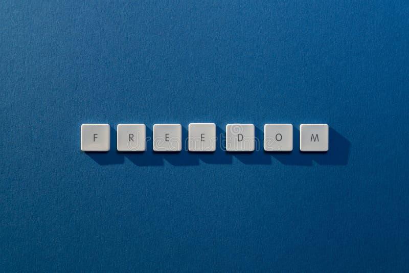 Описание свободы слова стоковое изображение