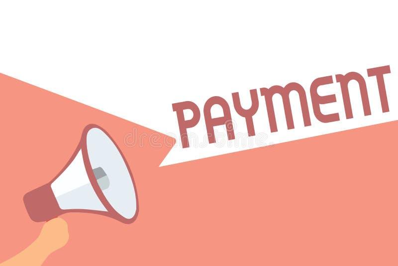 Оплата сочинительства текста почерка Процесс смысла концепции оплачивать кто-то или что-то дают приобретение законцовки денег бесплатная иллюстрация