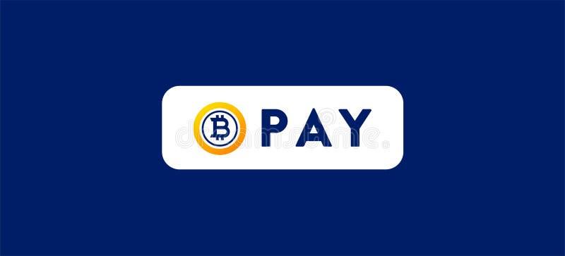 Оплата BitcoinGold BTG стоковые фото