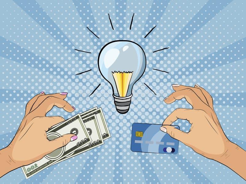 Оплачивать для нововведения и творческих способностей также вектор иллюстрации притяжки corel бесплатная иллюстрация