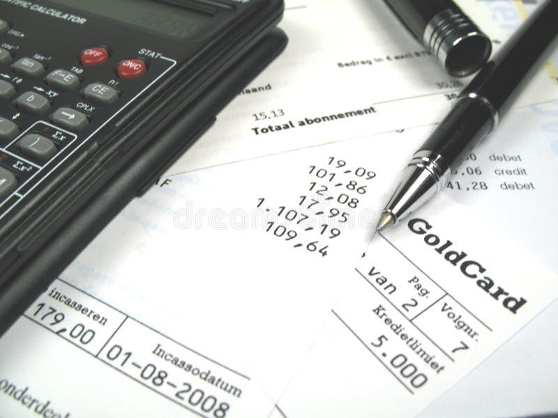 оплачивать счетов ваш стоковое фото rf