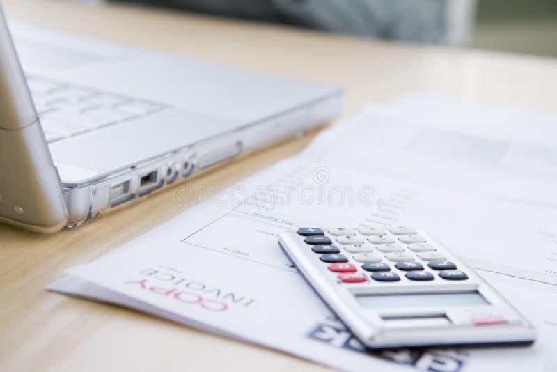 оплачивать счетов стоковые фотографии rf