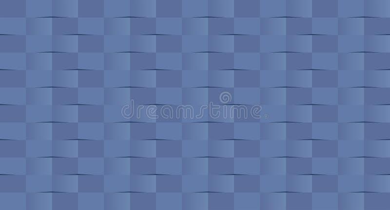 Оплетка, переплетенная картина Предпосылка старой школы безшовная, треугольник - иллюстрация вектора иллюстрация штока