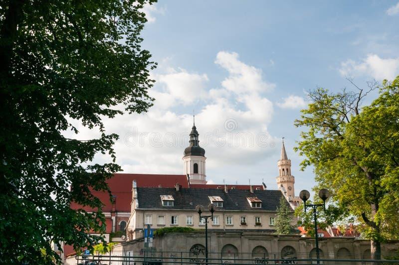Ополе, Оппельн, город на юге Польши на реке Одер стоковая фотография