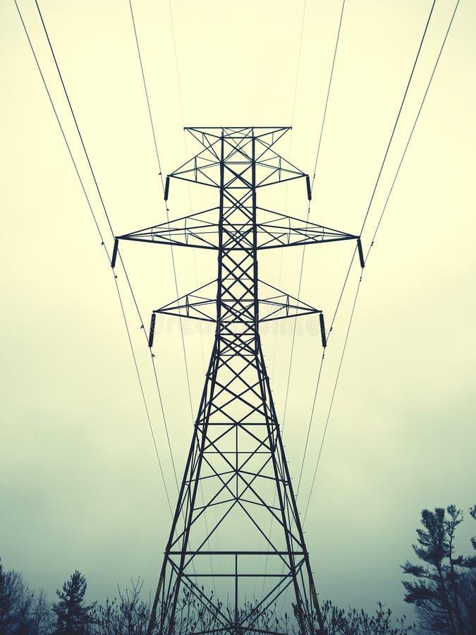 Опора Канада электричества стоковые изображения rf