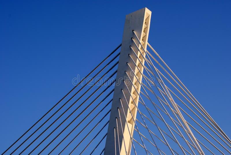 опора моста стоковая фотография