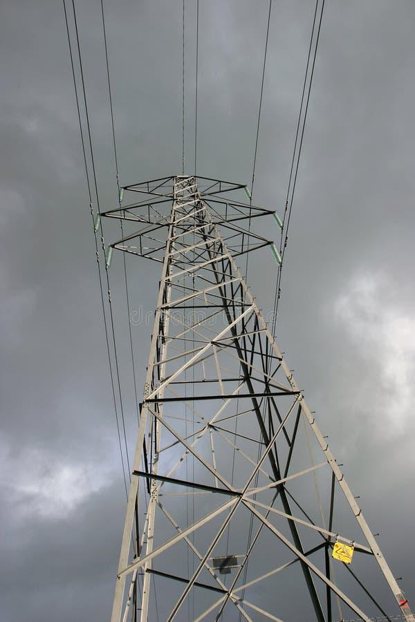 опора электричества стоковые изображения