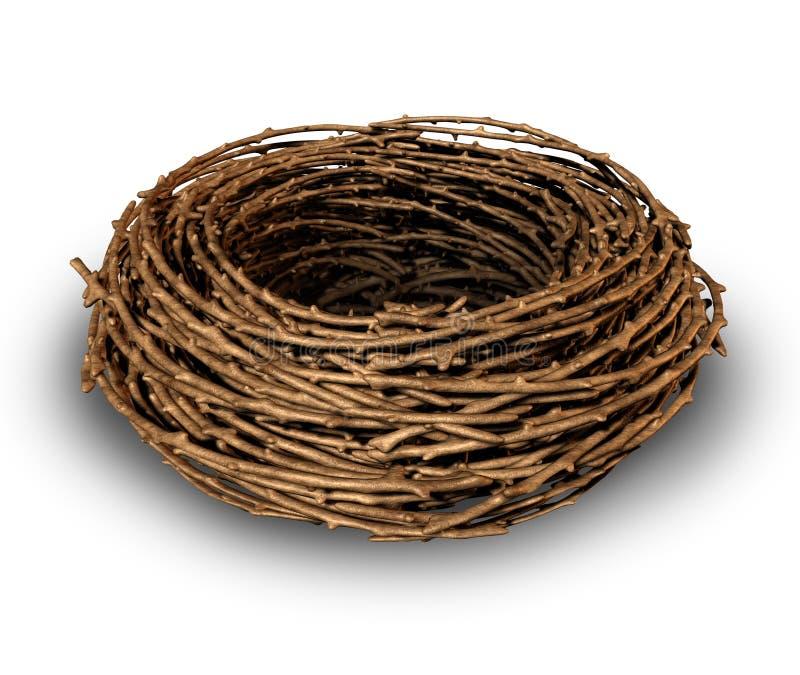 Опорожните гнездй бесплатная иллюстрация