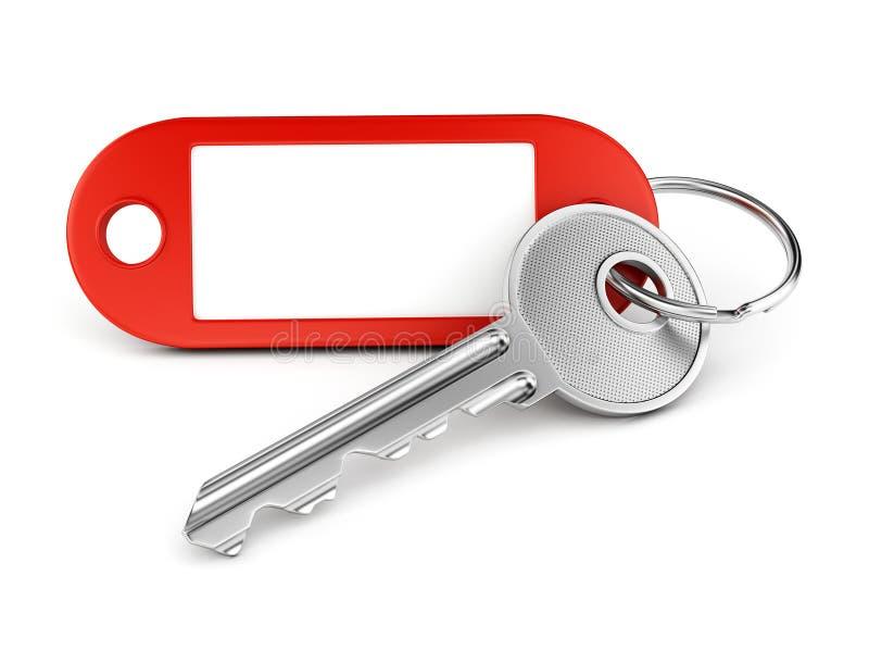 Опорожните кольцо для ключей ярлыка бесплатная иллюстрация