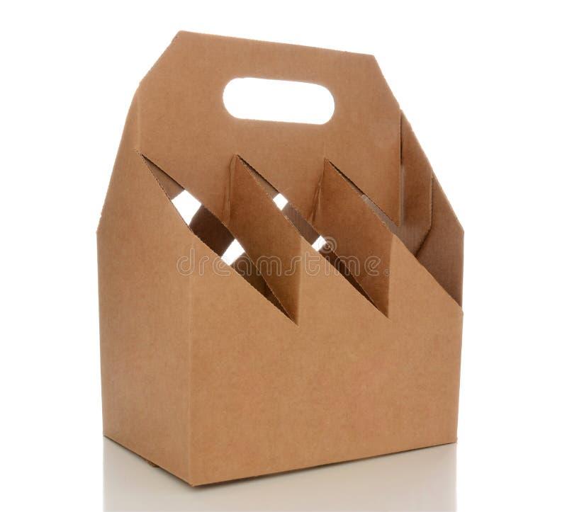Опорожните 6 несущих пакета стоковая фотография rf