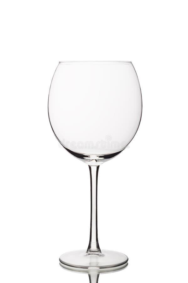 опорожните стеклянное вино стоковая фотография rf