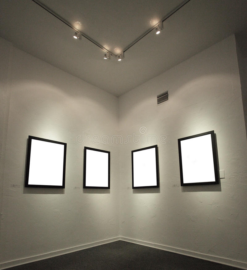 опорожните стену изображения рамок стоковое изображение rf