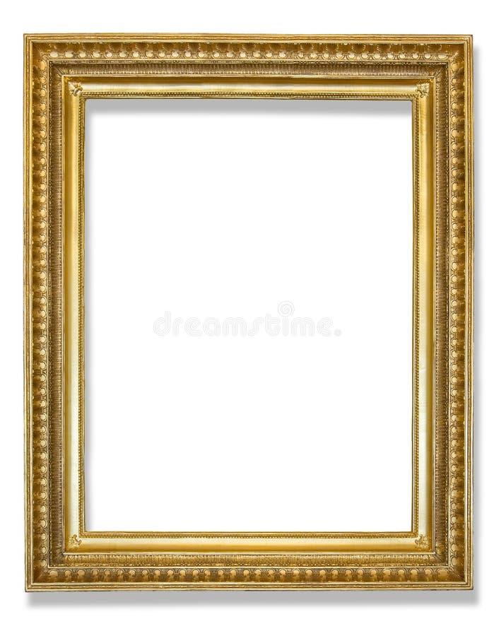 дополнительный иллюстратор золота рамки формы eps самана включает стоковые фото