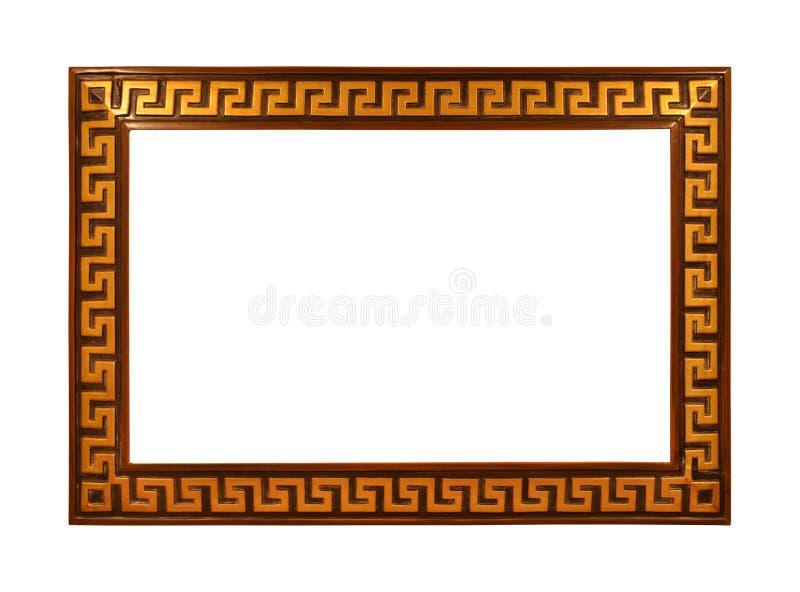 дополнительный иллюстратор золота рамки формы eps самана включает стоковая фотография rf