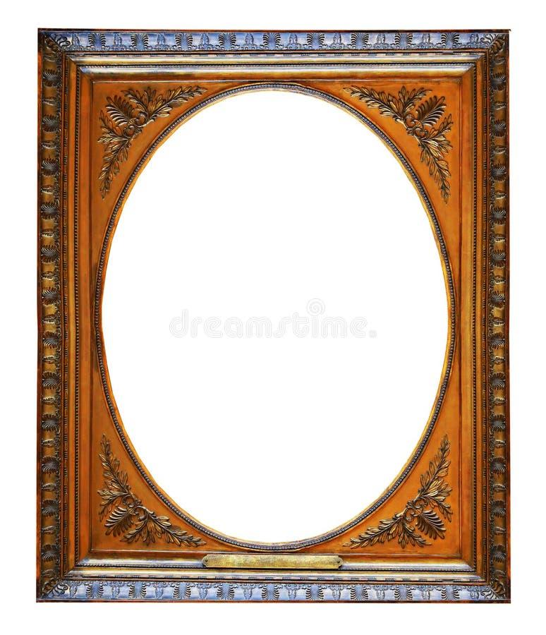дополнительный иллюстратор золота рамки формы eps самана включает стоковое изображение