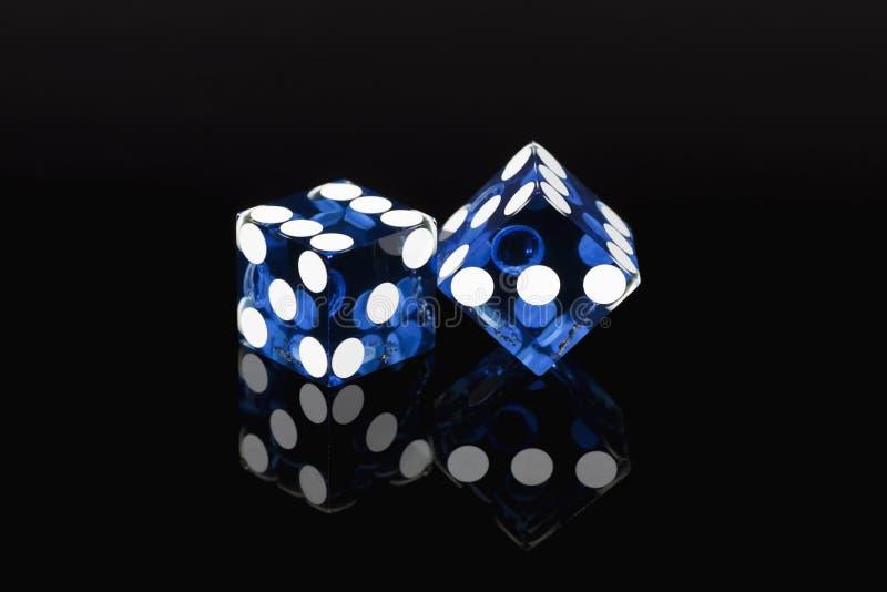 оправляет игра Las Vegas плашек стоковое изображение rf