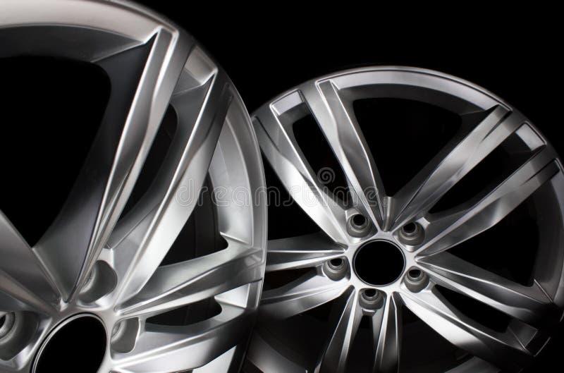 Оправы стального автомобиля стоковое фото rf