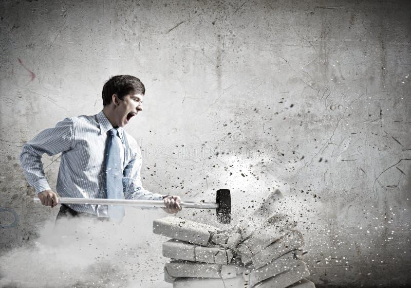 определенный бизнесмен стоковые фото