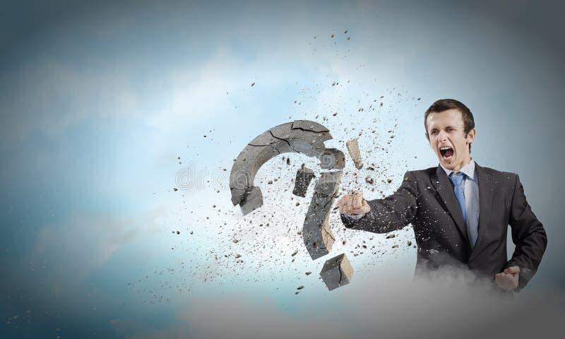 Download определенный бизнесмен стоковое изображение. изображение насчитывающей уверенно - 41652489