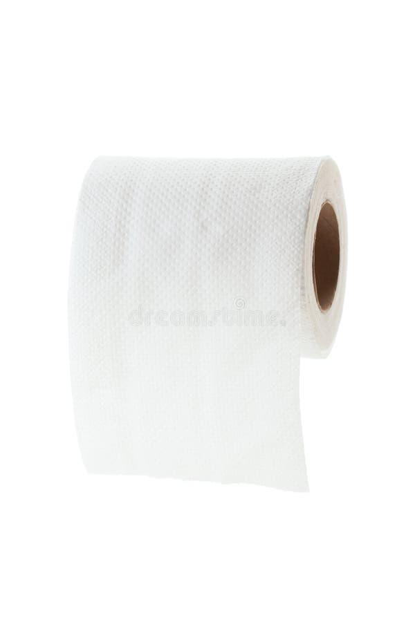 Определите свернутую туалетную бумагу стоковые изображения