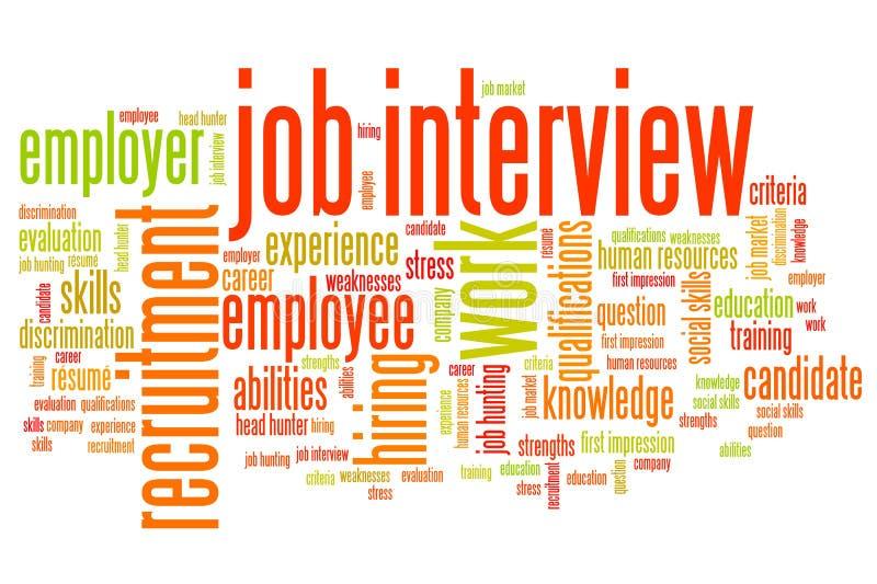 Опрос о возможностях занятости бесплатная иллюстрация