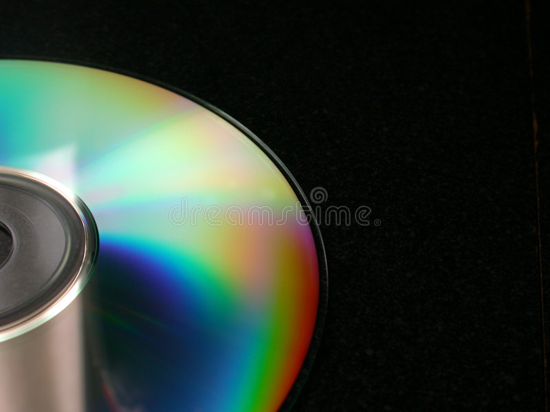 оптический диск предпосылки стоковые изображения rf