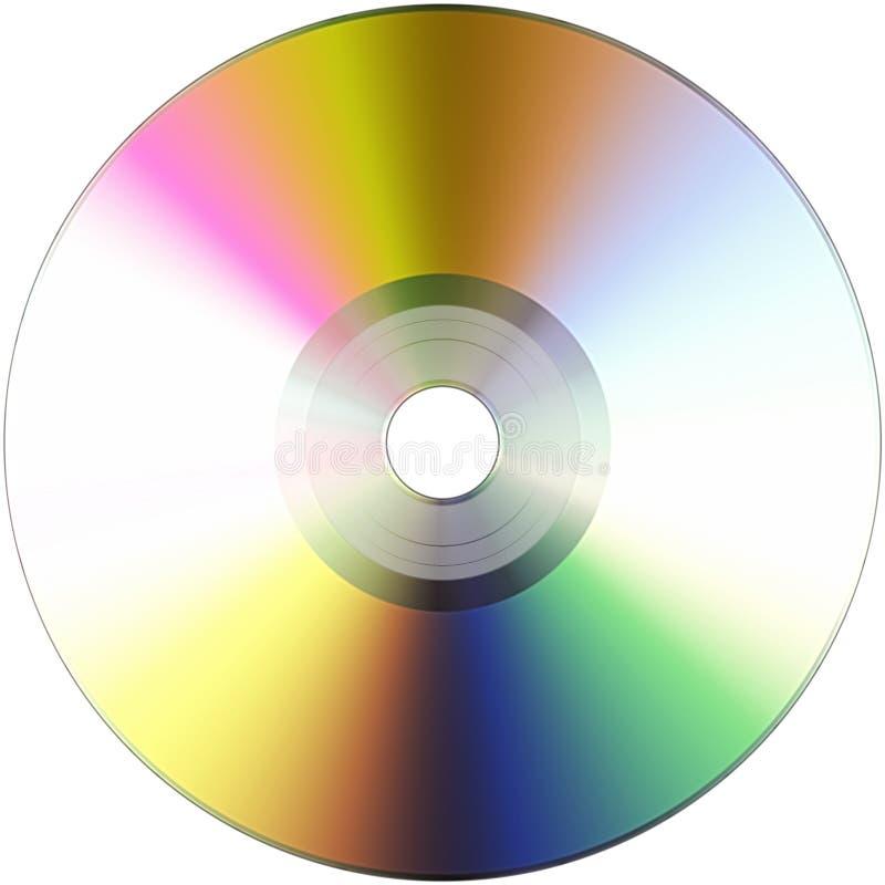 оптический диск иллюстрация штока