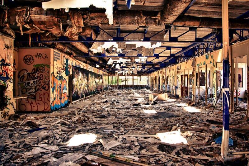 Опустошенный офис стоковое фото